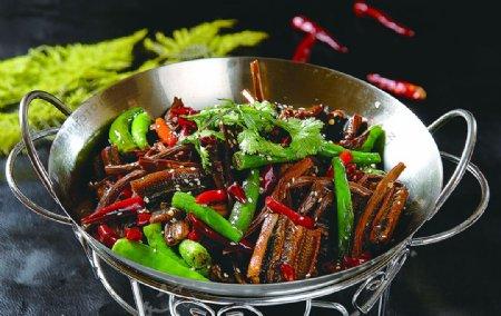 干锅茶花鳝图片