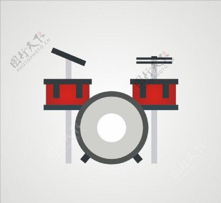 架子鼓乐器图片
