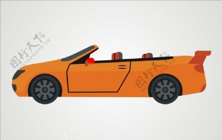 跑车汽车矢量汽车图片