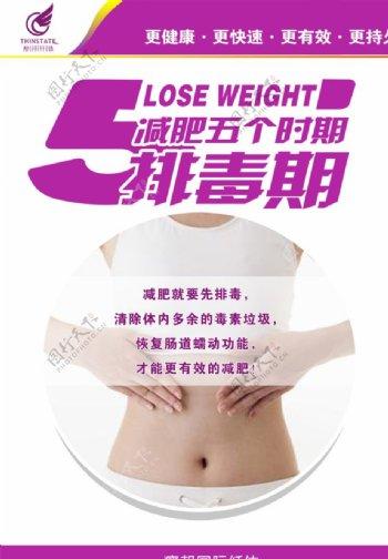 瘦邦纤体减肥五个时期排毒期图片