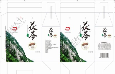 九资河茯苓包装图片