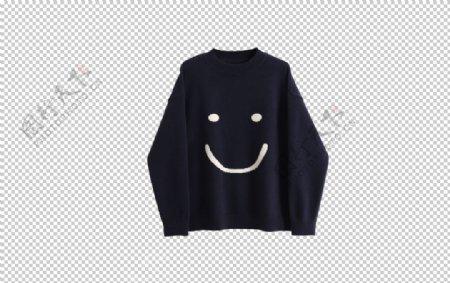 笑脸毛衣图片