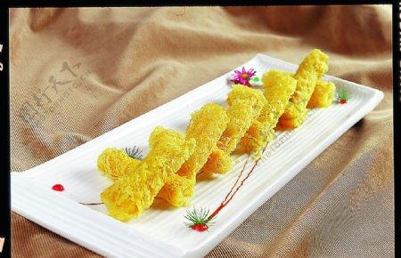 榴莲虾肉筒图片