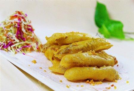 酥炸琵琶虾肉图片
