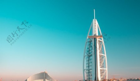 迪拜帆船酒图片