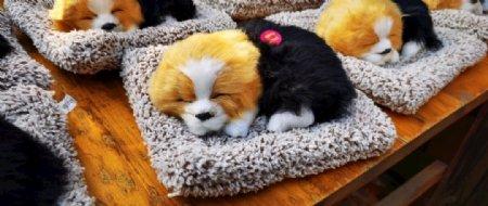 毛绒玩具狗狗图片