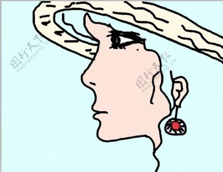 卡通人物女人图片