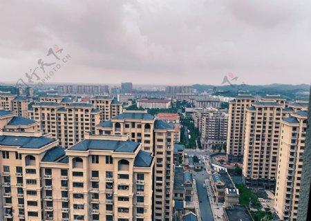 高楼的视野图片