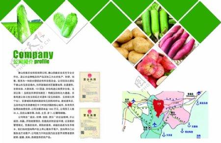农产品彩页图片