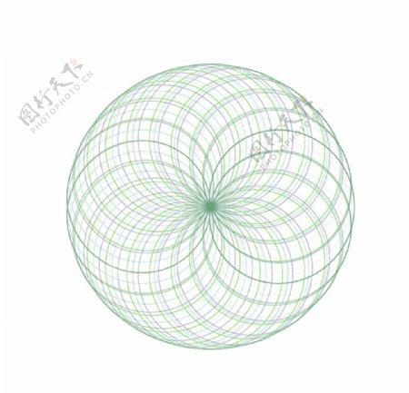 圆形图案图片