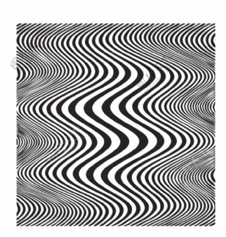 波浪图形矢量眩晕底纹图片