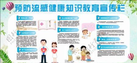 预防流感知识宣传册图片