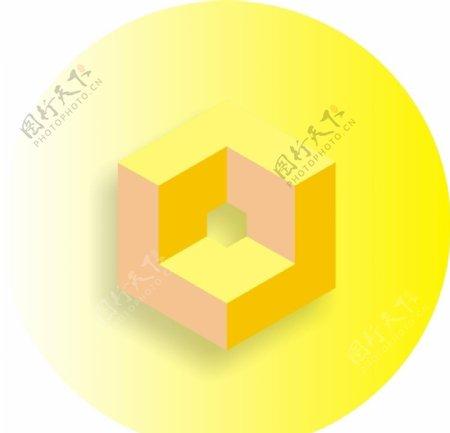 黄色标识图片