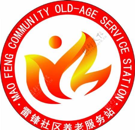 红色logo标志图片