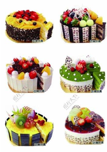 蛋糕分层图片