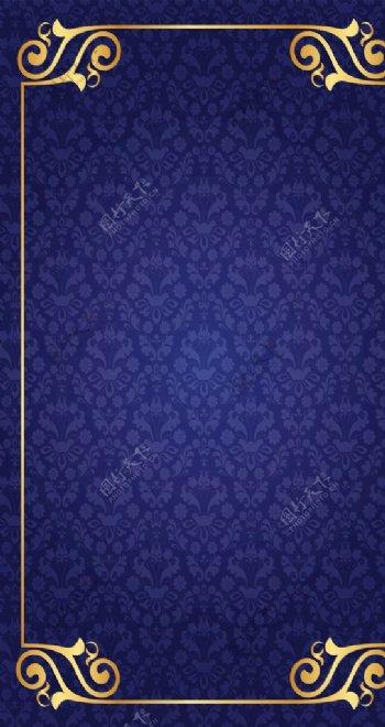 高贵古罗马欧式花纹背景底图图片