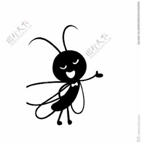 卡通蚂蚁素材图片