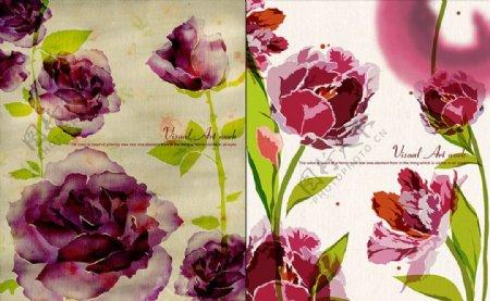 植物花卉印花素材纹理图片