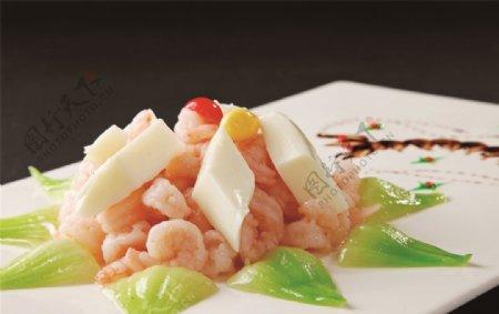 富贵水晶虾仁图片