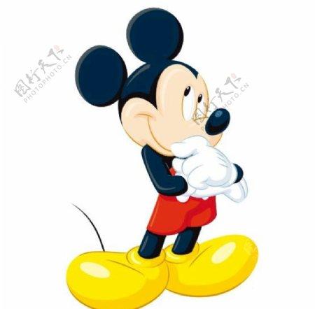 矢量卡通米老鼠图片