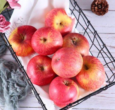 红苹果拍摄素材图片