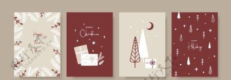 圣诞无缝底纹图片