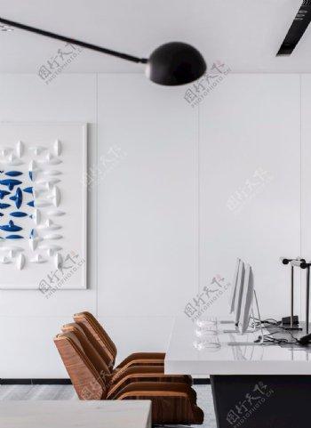 办公室墙纸展示图片