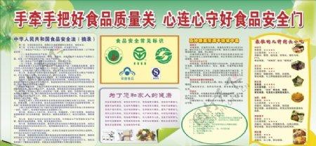 食品安全海报设计图片