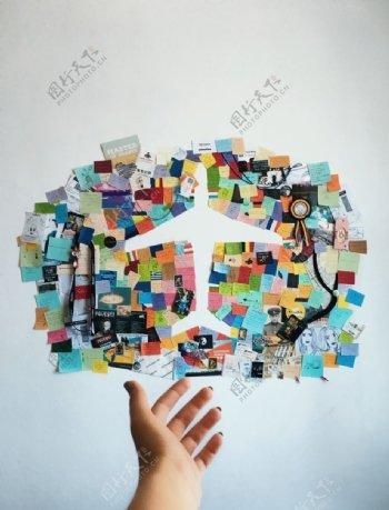 墙贴纸图片