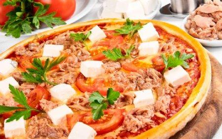 美食披萨图片