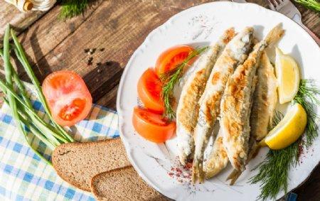 鱼烤鱼图片