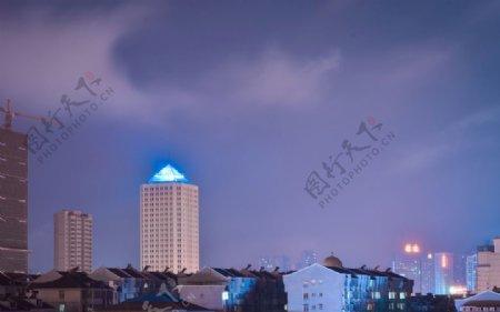 郴州万宝国际夜景图片