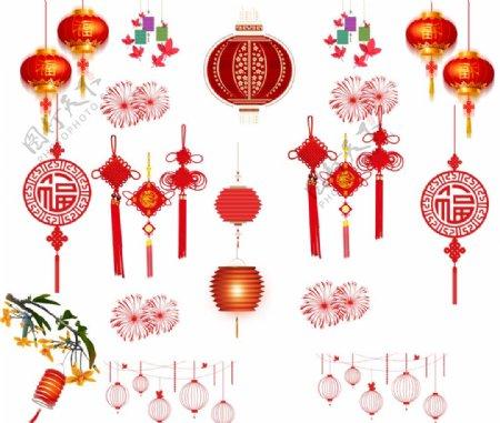 灯笼中国结图片