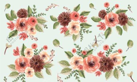 水彩花卉图片