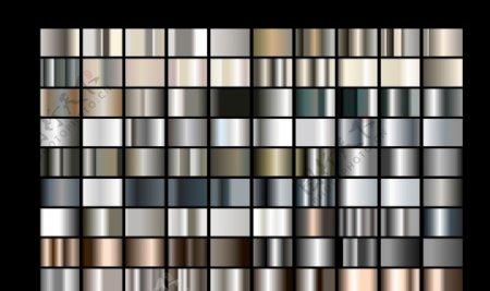 银灰不锈钢亮银金属图片