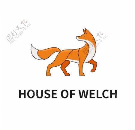 狐狸logo设计图片