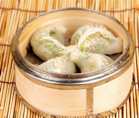 清爽白菜饺图片