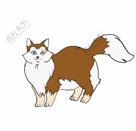 手绘猫咪素材图片