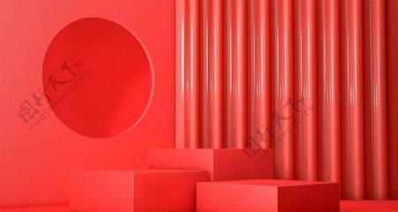 红色礼物图片