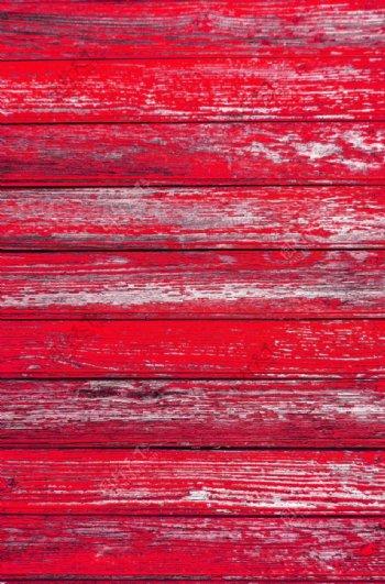 红色木板木纹图片