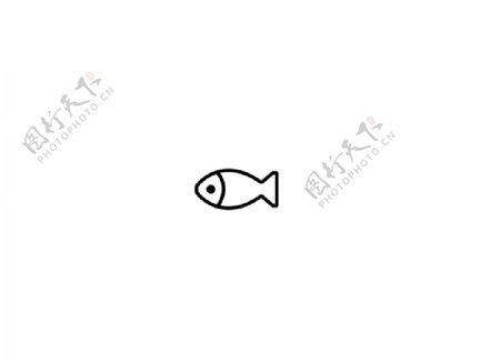 鱼咸鱼一条咸鱼简笔画图片