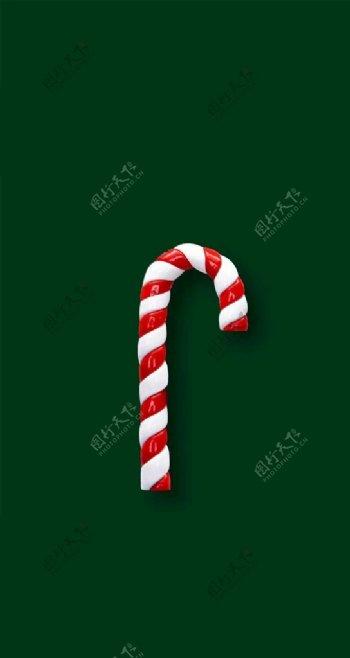 糖果圣诞节图片