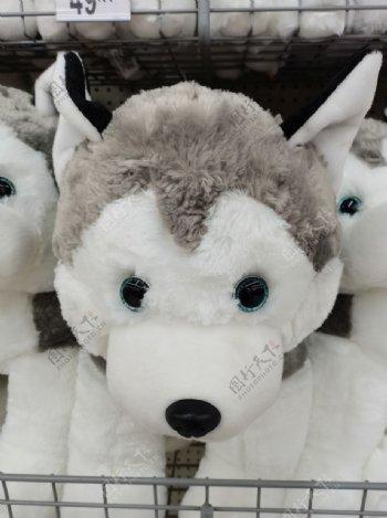 小狼狗娃娃图片