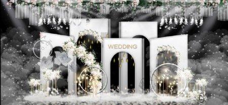 婚庆舞台户外效果图图片