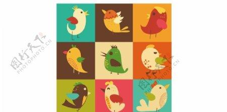 小鸟卡通图片