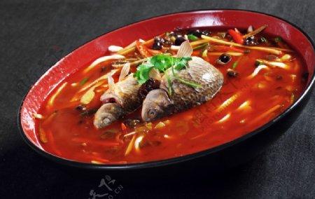 仔姜泡菜鲫鱼图片