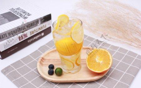 柠檬水饮品冷饮图片