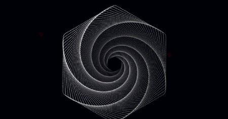 彩色几何抽象渐变背景图片