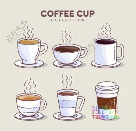 模板文件格式咖啡厅一杯咖啡图片