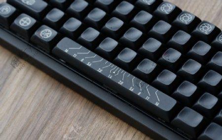 黑色键盘电子数码背景图片
